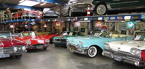 Classic Cars Tilburg - Showroom